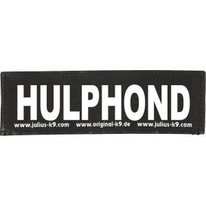 Julius-K9 tekstlabel Hulphond 16 x 5 cm