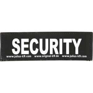 Julius-K9 tekstlabel Security 16 x 5 cm
