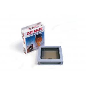 Cat Mate kattenluik groot met vierwegsluiting 50mm wit