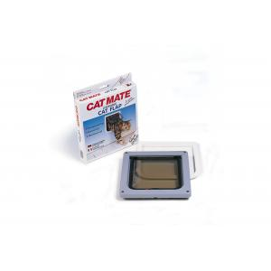 Cat Mate kattenluik met tweewegsluiting 13mm wit
