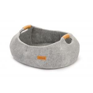 Minoq kattenmand grijs