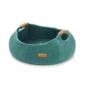 Dagaanbieding - Minoq kattenmand turquoise dagelijkse koopjes