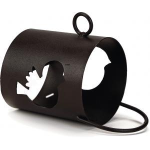 Vogelpindakaashouder metaal Sweety hang model