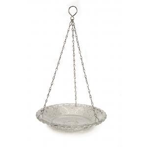 Vogelvoederschaal glas hangend