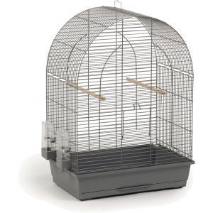 Vogelkooi Big Lucie grijs