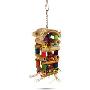 Vogelspeeltje toren. 20 cm