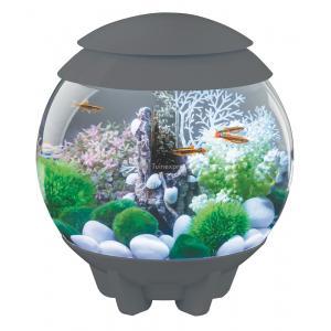 BiOrb Halo aquarium 30 liter LED grijs