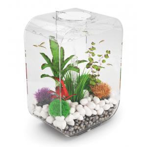 BiOrb Life aquarium 15 liter LED transparant