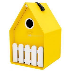 Landhaus vogelhuisje geel