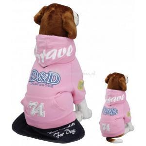 Hondenjas Fashion brave roze