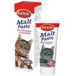 Sanal malt haarbalpasta voor katten