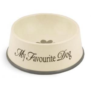 Hondenvoerbak hond my favourite