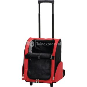 Ipts 35 x 26 x 42 cm draagbare trolley rood-zwart