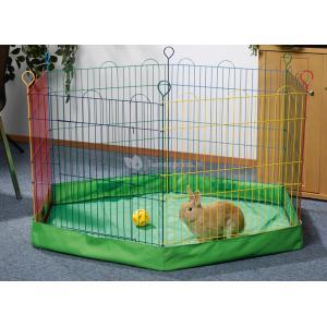 Bodemhoes voor konijnenren 6 panelen